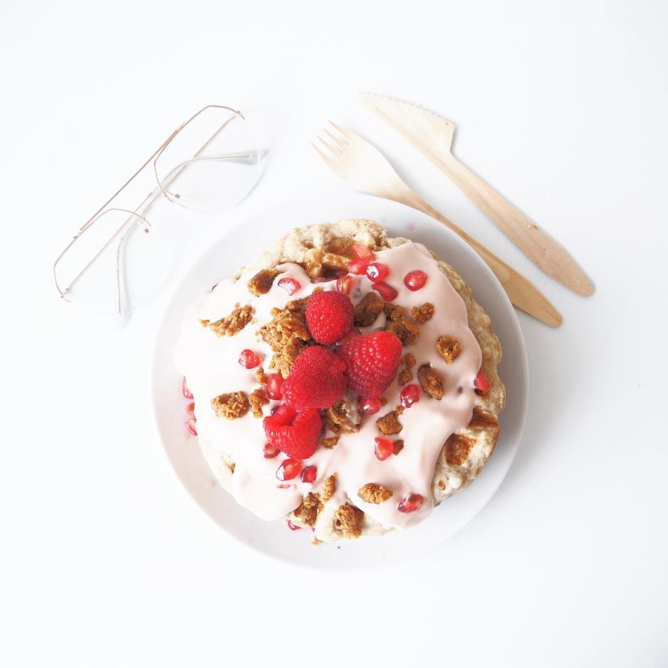 Vanilla Pancakes Fltlay